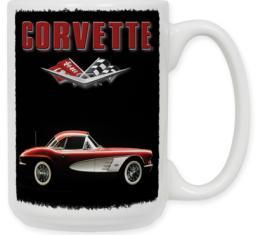 61 Corvette Coffee Mug