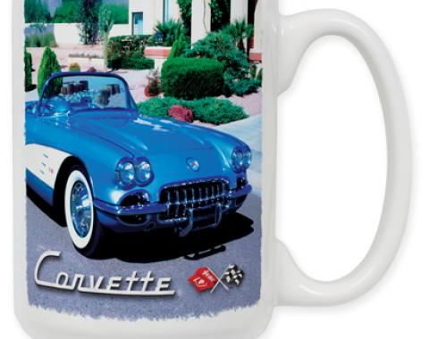 58 Corvette Coffee Mug
