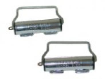 Seatbelt Solutions 1956-1982 Chevy Seatbelt Retractors 6466WINDERS | Chrome