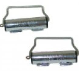 Seatbelt Solutions 1956-1982 Chevy Seatbelt Retractors 6466WINDERS   Chrome