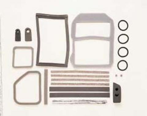 Corvette Air Conditioning/Heater Case Seal Kit, 1978-1982