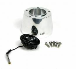 ididit Steering Wheel Adaptor, 5 Bolt, Brushed 2207310030