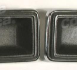 [DISABLED] Corvette Door Latch Bezels, Collector (60), 1982