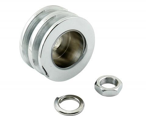 Mr. Gasket Chrome Plated Alternator Pulley 6809