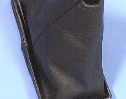 Corvette Shifter Boot, Upper, 4-Speed Transmission, Black, 1968-1976