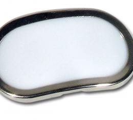 Corvette Rear Compartment Courtesy Light Lens, 1968-1976