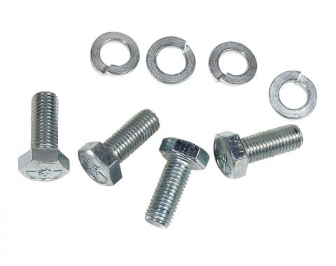 Corvette Fan Blade Bolts, 4 Piece Set with Washers, 1953-1960
