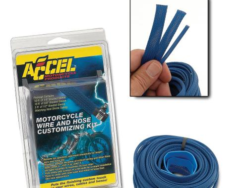 Accel Hose/Wire Sleeving Kit 2007BL