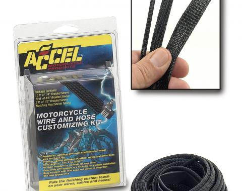 Accel Hose/Wire Sleeving Kit 2007BK