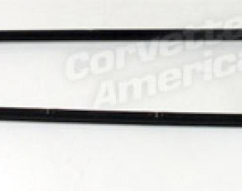 Corvette Door Felts, Convertible Outer Replacement, 1969-1975
