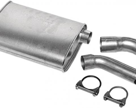 Corvette Dynomax Super Turbo Muffler, 2 1/2 Inch, 1974-1982