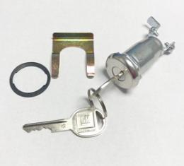 Corvette Theft Alarm Lock With Key, 1970-1977