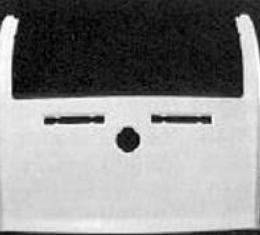 Corvette Rear End Upper Deck, Convertible, ACI, 1978-1982