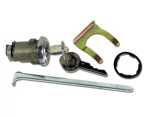 Corvette Trunk Lock, With Keys, 1953-1958