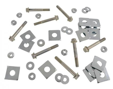 Corvette Body Mount Kit, Bolt, Shim, Nut & Washer, 1973-1982