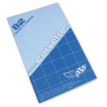 Corvette Owners Manual, 1982