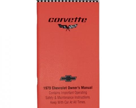 Corvette Owners Manual, 1979