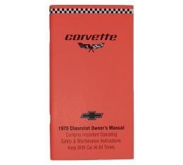 Corvette Owners Manual, 1979