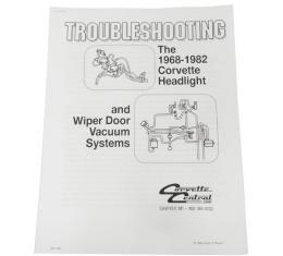 Corvette Headlight & Wiper Vacuum Troubleshooting Guide, 1968-1982