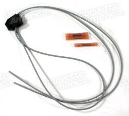 Corvette Power Door Lock Switch Repair Wiring Harness, Left, 1984-1985
