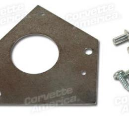 Corvette Clutch Rod Boot Retainer, with Screws, 1965-1967