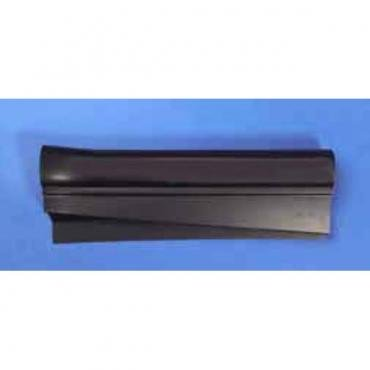 Corvette Sill Ease Protectors, Black, Without Letters, 1997-2004