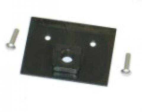 Corvette Horn Mount Nut Plate With Rivets, 1956-1962