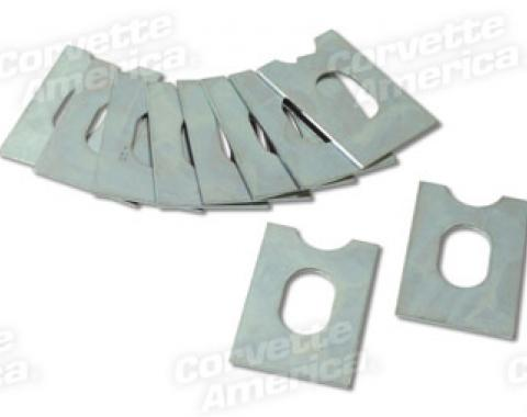 Corvette Body Mount Shims, Metal 10 Piece Set, 1953-1962