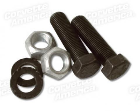 Corvette Lower A-Arm Shaft Bolt/Washer/Nut Set, 1963-1982