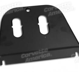 Corvette Heater Cover Plate, With Air Conditioning, 1963-1967