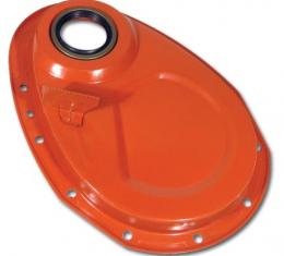Corvette Timing Chain Cover, with Tab, Small Block Except High Performance, 1955-1967