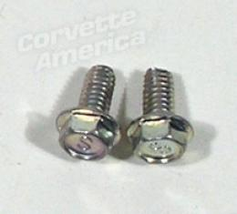 Corvette Air Conditioning Electric Shutoff Switch Screws, 1963-1967