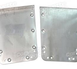 Corvette Trunk Floor Access Plates, Steel, 1958