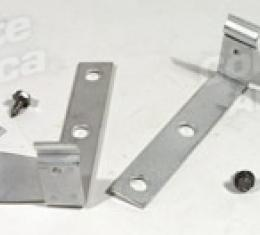 Corvette Hood Latch Cable Support Brackets, (58 Early), 1958