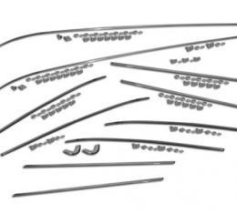 Corvette Side Mouldings, Car Set 10 Piece, 1958-1961