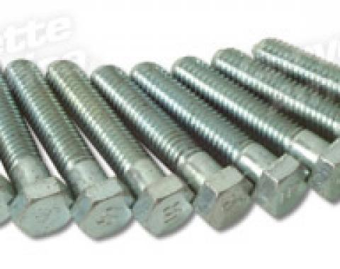 Corvette Body Mount Bolts, UR Headmark, 10 Piece Set, 1956-1962