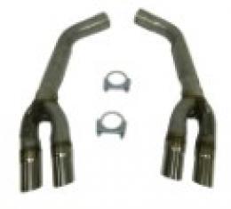 Corvette Muffler Eliminator Pipes, 1992-1996