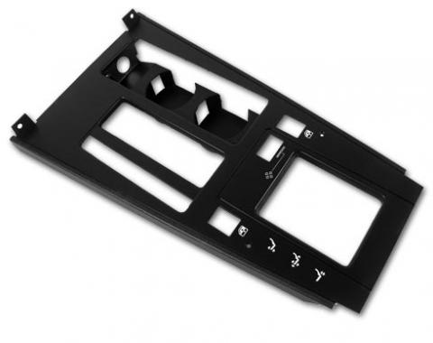 Corvette Shifter Console Trim Plate, For Cars With Automatic Transmission, 1984-1989