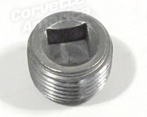 Corvette Block Plug, Under Fuel Pump 396, 1965