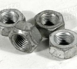 Corvette Control Arm Alignment Nuts, 4 Piece Set, 1966-1982