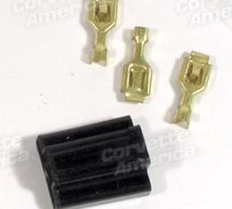 Corvette Dimmer Switch Plug & Terminal Set, 1955-1976