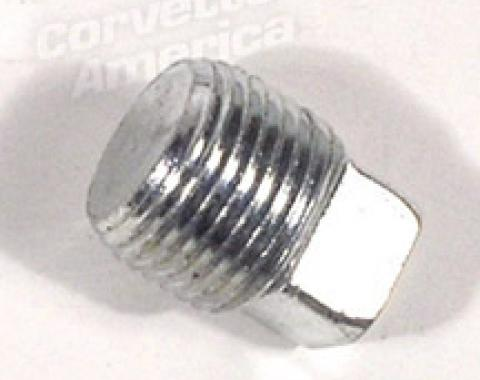 Corvette Water Pump Heater Delete Plug, 1959-1980