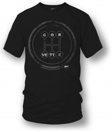 Corvette Shirt - C7 Manual Style Stick Shift