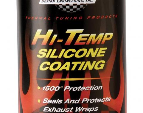 Corvette Exhaust Wrap High Temp Coating, Black