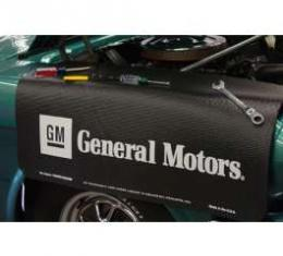 Fender Gripper® Cover, Black With GM General Motors Logo