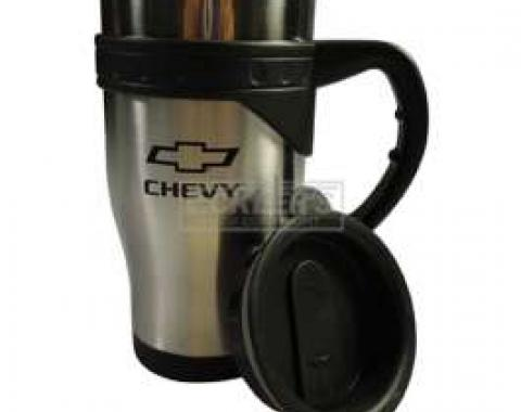 Chevy Travel Mug, Stainless Steel