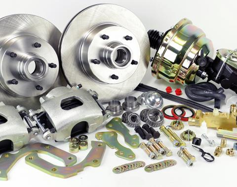 Corvette Disc Brake Conversion Kit, Front Power, 1953-1962