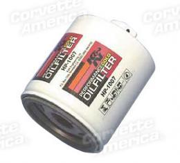 Corvette Oil Filter LS1/LS2/LS6,  K&N, 1997-2006