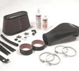 Corvette Air Induction System, K&N, 2001-2004