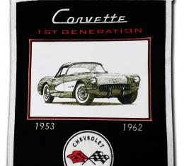 Genuine Wool Blend Banner with C1 Emblem and Image